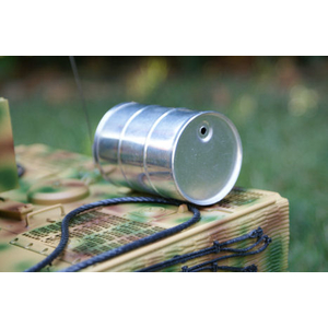 Petrol/oil barrel 200 l, made of metal 1/16