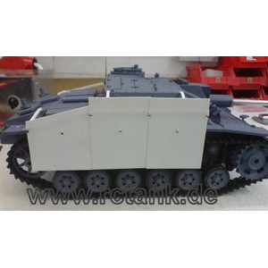 StuG III, apron kit made of polystyrene